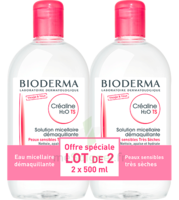 Crealine Ts H2o Solution Micellaire Sans Parfum Nettoyante Apaisante 2fl/500ml à BOURG-SAINT-ANDÉOL