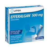 Efferalgan 500 Mg Glé En Sachet Sach/16 à BOURG-SAINT-ANDÉOL