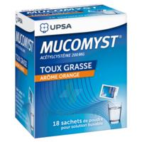 Mucomyst 200 Mg Poudre Pour Solution Buvable En Sachet B/18 à BOURG-SAINT-ANDÉOL