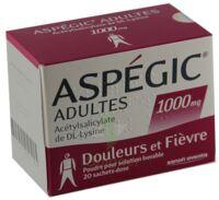 Aspegic Adultes 1000 Mg, Poudre Pour Solution Buvable En Sachet-dose 15 à BOURG-SAINT-ANDÉOL
