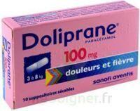 Doliprane 100 Mg Suppositoires Sécables 2plq/5 (10) à BOURG-SAINT-ANDÉOL