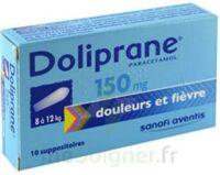 Doliprane 150 Mg Suppositoires 2plq/5 (10) à BOURG-SAINT-ANDÉOL