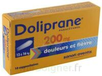 Doliprane 200 Mg Suppositoires 2plq/5 (10) à BOURG-SAINT-ANDÉOL