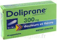 Doliprane 300 Mg Suppositoires 2plq/5 (10) à BOURG-SAINT-ANDÉOL