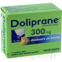 Doliprane 300 Mg Poudre Pour Solution Buvable En Sachet-dose B/12 à BOURG-SAINT-ANDÉOL
