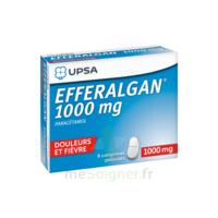 Efferalgan 1000 Mg Comprimés Pelliculés Plq/8 à BOURG-SAINT-ANDÉOL