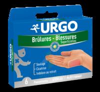 Urgo Brulures-blessures Petit Format X 6 à BOURG-SAINT-ANDÉOL