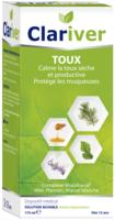 Clariver Solution Buvable Toux Sèche Et Productive Adulte Fl/175ml à BOURG-SAINT-ANDÉOL