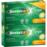 Berocca Energie Comprimés Effervescents Orange B/60 à BOURG-SAINT-ANDÉOL