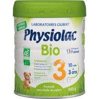 Physiolac Bio Lait 3éme Age 800g à BOURG-SAINT-ANDÉOL