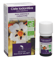 Docteur Valnet Huile Essentielle Bio, Ciste Ladanifere 5ml à BOURG-SAINT-ANDÉOL