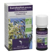 Docteur Valnet Huile Essentielle Bio, Eucalyptus Globulus 10ml à BOURG-SAINT-ANDÉOL