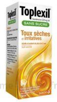 Toplexil 0,33 Mg/ml Sans Sucre Solution Buvable 150ml à BOURG-SAINT-ANDÉOL