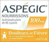 Aspegic Nourrissons 100 Mg, Poudre Pour Solution Buvable En Sachet-dose à BOURG-SAINT-ANDÉOL