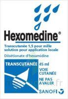 Hexomedine Transcutanee 1,5 Pour Mille, Solution Pour Application Locale à BOURG-SAINT-ANDÉOL
