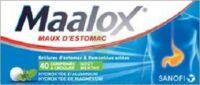 Maalox Hydroxyde D'aluminium/hydroxyde De Magnesium 400 Mg/400 Mg Cpr à Croquer Maux D'estomac Plq/40 à BOURG-SAINT-ANDÉOL