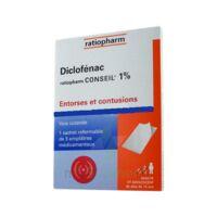 Diclofenac Ratiopharm Conseil 1 %, Emplâtre Médicamenteux à BOURG-SAINT-ANDÉOL