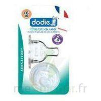 Dodie Sensation+ Tétine Plate Débit 2 Silicone 0-6mois à BOURG-SAINT-ANDÉOL