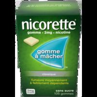 Nicorette 2 Mg Gom à Mâcher Médic Sans Sucre Menthe Fraîche Plq/105gom à BOURG-SAINT-ANDÉOL