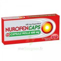 Nurofencaps 400 Mg Caps Molle Plq/10 à BOURG-SAINT-ANDÉOL
