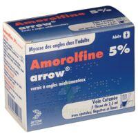 Amorolfine Arrow 5 % V Ongles Médicamenteux 1fl/2,5ml+30spat à BOURG-SAINT-ANDÉOL