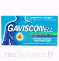 Gavisconell Coprimés à Croquer Sans Sucre Menthe édulcoré à L'aspartam Et à L'acésulfame Potas Plq/24 à BOURG-SAINT-ANDÉOL