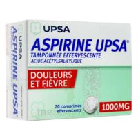 Aspirine Upsa Tamponnee Effervescente 1000 Mg, Comprimé Effervescent à BOURG-SAINT-ANDÉOL