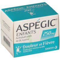Aspegic Enfants 250, Poudre Pour Solution Buvable En Sachet-dose à BOURG-SAINT-ANDÉOL