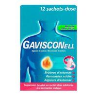 Gavisconell Suspension Buvable Sachet-dose Menthe Sans Sucre 12sach/10ml à BOURG-SAINT-ANDÉOL