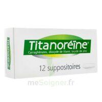 Titanoreine Suppositoires B/12 à BOURG-SAINT-ANDÉOL