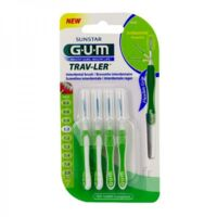 Gum Trav - Ler, 1,1 Mm, Manche Vert , Blister 4 à BOURG-SAINT-ANDÉOL