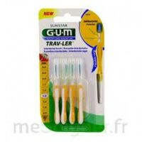 Gum Trav - Ler, 1,3 Mm, Manche Jaune , Blister 4 à BOURG-SAINT-ANDÉOL