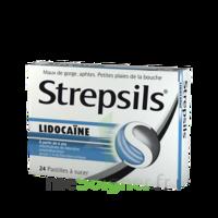 Strepsils Lidocaïne Pastilles Plq/24 à BOURG-SAINT-ANDÉOL