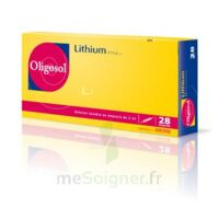 Oligosol Lithium Solution Buvable En Ampoule Ou En Récipient Unidose 28amp/2ml à BOURG-SAINT-ANDÉOL