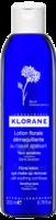 Klorane Soins Des Yeux Au Bleuet Lotion Florale Démaquillante 200ml à BOURG-SAINT-ANDÉOL