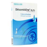 Desomedine 0,1 % Collyre Sol 10fl/0,6ml à BOURG-SAINT-ANDÉOL