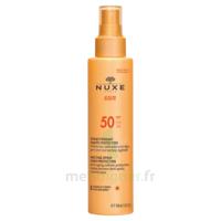 Spray Solaire Visage Et Corps Haute Protection Spf 50 Nuxe Sun150ml à BOURG-SAINT-ANDÉOL