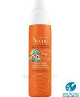 Avène Eau Thermale Solaire Spray Enfant 50+ 200ml à BOURG-SAINT-ANDÉOL