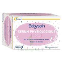 Babysoin Solution Sérum Physiologique 30 Unidoses/5ml à BOURG-SAINT-ANDÉOL