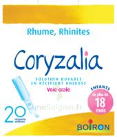 Boiron Coryzalia Solution Buvable Unidose B/20 à BOURG-SAINT-ANDÉOL