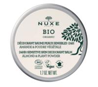 Nuxe Bio Déodorant Baume Fraîcheur 24h Peaux Sensibles Pot/50g à BOURG-SAINT-ANDÉOL