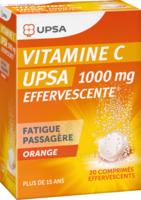 Vitamine C Upsa Effervescente 1000 Mg, Comprimé Effervescent à BOURG-SAINT-ANDÉOL