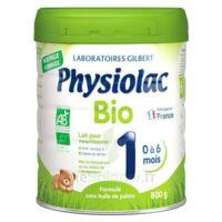 Physiolac Bio 1 Lait En Poudre B/800g à BOURG-SAINT-ANDÉOL