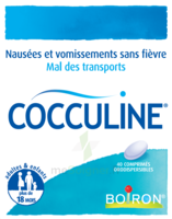 Boiron Cocculine Comprimés Orodispersibles B/40 à BOURG-SAINT-ANDÉOL